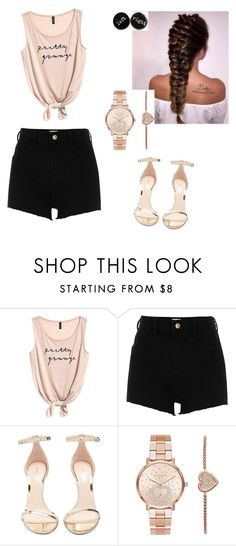 """""""Untitled #61"""" by ellen7ellen ❤ liked on Polyvore featuring River Island, Nicholas Kirkwood and Michael Kors"""