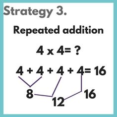 Are you ready to teach multiplication to your kids? Multiplication can be a little overwhelming for both teachers and students! So often the main focus … Read More › Teaching Multiplication, Teaching Math, Multiplication Problems, Maths, Math Strategies, Math Resources, Multiplication Strategies, Math Tips, Simple Math