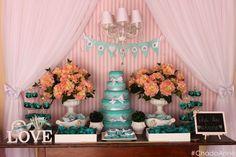 Chá de lingerie Tiffany & Co ♥ Anne - Noivinhas de Luxo