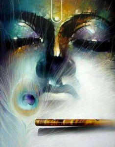 Hare Krishna ॐ – Best Painting Arte Krishna, Krishna Flute, Krishna Leela, Baby Krishna, Jai Shree Krishna, Radha Krishna Love, Radha Rani, Lord Krishna Images, Radha Krishna Pictures