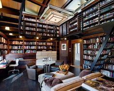 Creating A Home Library Design Will Ensure Relaxing Space13
