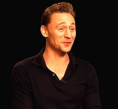 Just Tom Hiddleston — Cute! ♥ (x)