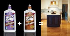Naturally clean your hardwood floors with NEW Quick Shine® Hardwood Floor Cleaner. Dries fast and is safe for kids and pets! Use before our Hardwood Floor Luster to get an amazing shine.  https://www.hollowayhouse.net/product/quick-shine-quick-dry-hardwood-floor-cleaner/
