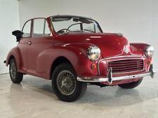 1961 Morris Minor Convertible Project