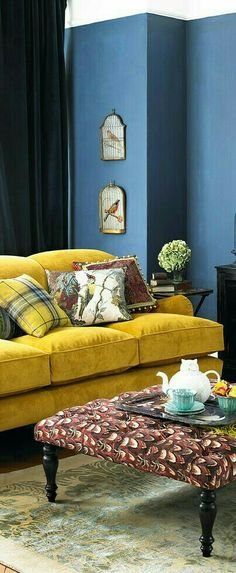 Yellow Home Decor, Aqua, Lounge, Couch, Interior, Furniture, Chair, Airport Lounge, Water