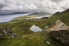 Isle of Skye - view from Storr, Scotland