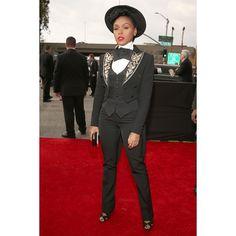 Janelle Monae at the 2013 #Grammys Awards