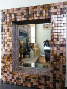 Roman Collection Chamoisee X Glass Tile Shop Glass Tiles At - 1x1 mirror tiles