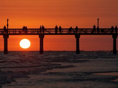 Sunset, Fort Myers Beach, Florida    Photograph by Guido Mandozzi, My Shot...I love Fort Myers Beach.