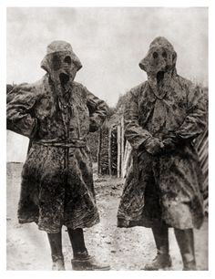 WW1 Early French Camouflage.