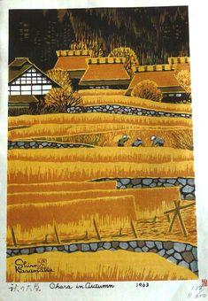 """""""Ohara in Autumn"""" by Shiro, Kasamatsu, 1963:"""
