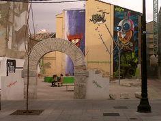 #Zaragoza, arte urbano, street art, Festival Asalto.
