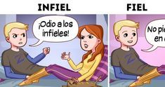 7 signs of infidelity that go unnoticed and that you should not ignore - Best Adorable Animals Humour Couple, Couples Comics, Romantic Humor, Truth Of Life, Mo S, Life Motivation, Mom Blogs, To My Future Husband, Kids Learning