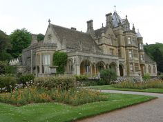 Tyntesfield | Victorian country house and grounds. National Trust property, Wraxall, North Somerset.