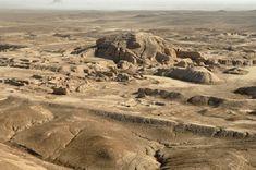 URUK - Vue générale en 2015 - La ville attend sous le sable une nouvelle campagne de fouilles...