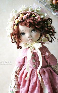 :: Crafty :: Cloth Doll :: 2 :: кукла текстильная