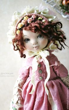 :: Crafty :: Cloth Doll :: 2 :: кукла текстильная