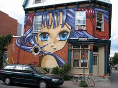 Manga Graffiti from All Over the World #graffiti trendhunter.com