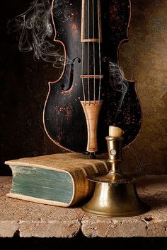 musical instruments Still Life with Capstan Candlestick and Baroque Violin Dutch Still Life, Still Life Art, Violin Art, Violin Music, Violin Instrument, Vanitas, Still Life Photography, Photography Music, Landscape Photography