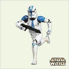 2005 Star Wars - Clone Trooper Lt Hallmark Ornament   The Ornament Shop