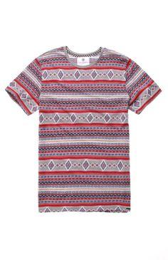 All Over Jacquard Jersey Pacsun, Fashion Beauty, Button Down Shirt, Men Casual, Tees, Mens Tops, T Shirt, Style, Dress Shirt