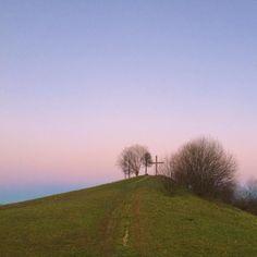 . お天気が良かったので夕方近くだけどいつもは行かない公園に  西の空はオレンジ色のグラデーションでしたが私はこちらのピンクとブルーの東の空が好きかな . . #sky #skyporn #sunset #sunsetlovers  #EastSky #scenery #landscape #landscape_lovers  #空 #夕空 #風景 #景色 #冬の木 #東の空 December 6 2015 by yoko_9a