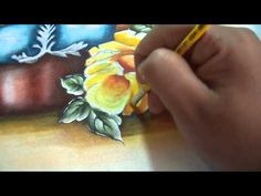 Markinhu Oliveira Pinturas - ROSAS AMARELAS - 1ª PARTE - YouTube