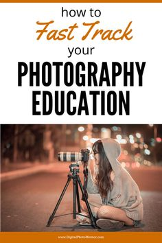 Learn how to FAST TRACK your photography education and photography skills and take your photos to the next level quickly, by practicing these techniques.  Beginner photographer rapidly improves her photography skills by engaging in these practices.  You can too. #photographyeducation #photographyskills #learnphotography #beginnerphotography #photo101 Line Photography, Photography Challenge, Photography Tips For Beginners, Famous Portrait Photographers, Digital Archives, Free Education, National Gallery Of Art, Depth Of Field, Track