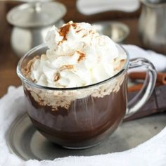Delicious dark chocolate mocha with an easy to make recipe. Hot creamy mocha gives the great taste without the big price tag. DIY drink right from your kitchen. Who is in love with coffee? Me! This mocha came from my desire to quench my thirst for a good mocha without paying the steep price tag...