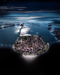 The floating city of Aitolikon Aitolia and Akarnania - Central You Are Amazing, Ancient Greece, Greek Islands, Holiday Destinations, Airplane View, Countryside, Beautiful Places, Places To Visit, Explore