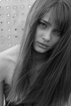 Taylor Marie Hill, long hair with bangs