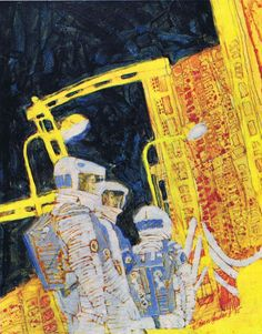 Brian Sanders: Artwork Commissioned for the Making of 2001: A Space Odyssey (1968) – SOCKS