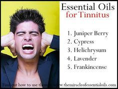 Tinnitus can wreak havoc on one's life. Though it is not an actual condition itself, it is a sign that another problem exists. If you are bothered by symptoms and are in desperate need of a tinnitus treatment, read on. Sound therapy is perhaps the most. Essential Oil Uses, Young Living Essential Oils, Tinnitus Symptoms, Homeopathy, Doterra Essential Oils, Essential Oils For Tinnitus, Warts, Natural Cures, Natural Healing