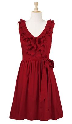 Bridesmaid dress if I don't wear red.