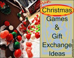 Christmas Games & Gift Exchange Ideas