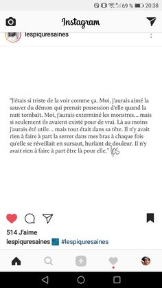 Eve quand tu vas pas bien...❤ Im Sad, Messages, Pretty Words, My Mood, Tired, Thats Not My, Quote, Deep, Journal