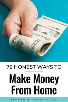 There are lots of interesting and fun ways to make money and become your own boss! Here are 75 unique ideas for you! Make Money Fast, Ways To Save Money, Make Money From Home, Money Tips, Money Saving Tips, Earn Money Online, Make Money Blogging, Online Jobs, Blogging Ideas