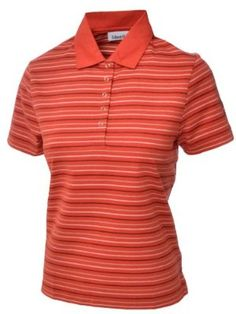 Ashworth Womens Golf Polo Shirt - Orange - 10 by Ashworth. $15.99. Look like a true professional with this stylish and comfortable design. 100% Cotton. Synonymous with Golf, the Ashworth Clothing Range will be ideal for the golfer who favours quality and style. Embroidered Ashworth golfer logo on sleeve with striped design across garment. Classic polo shirt design with collar and 4 button placket. Ashworth is and always has been a different breed of golf company. Contemporary...