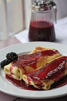 Blackberry Blintzes - Best Cake Recipe - http://specialycookies.com/blackberry-blintzes-best-cake-recipe/