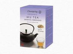 Organic Mu Tea - Oriental Herb Blend - 20 Tea Bags - Clearspring Ltd