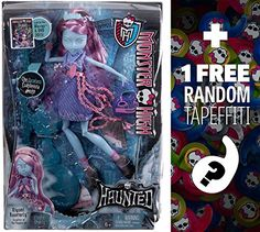 Kiyomi Haunterly - Daughter of the Noppera-Bo: Monster High Haunted Student Spirits Doll + 1 FREE Official Monster High Mini-Tapeffiti Bundle