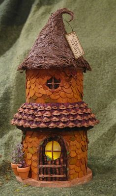Warm and cozy fairy house night light