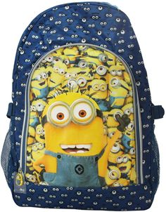 Minions, Backpacks, Holiday, Bags, School Backpacks, Purses, Vacations, Holidays, Totes