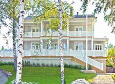 Kannustalo_messuvoittaja Aurora, Scandinavian Home, Lake View, Home Renovation, My Dream Home, Outdoor Structures, Mansions, House Styles, Interior