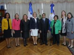 Mariano Germán Mejía se reúne con presidenta de la Corte Suprema de Costa Rica