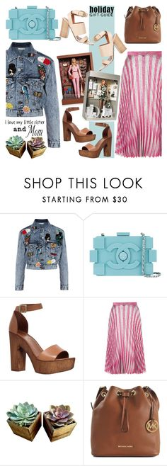 """""""Gift Guide: Your Mom and Sis"""" by bklana ❤ liked on Polyvore featuring Alice + Olivia, Magdalena, Chanel, Carvela, Gucci, Michael Kors, Givenchy, giftguide and bklana"""