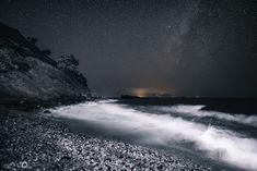 Σάμος (by Μανώλης Θράβαλος) Under The Stars, Northern Lights, Nature, Travel, Naturaleza, Viajes, Destinations, Nordic Lights, Aurora Borealis