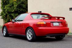 Honda Del Sol This was the first car I bought with MY OWN MONEY!