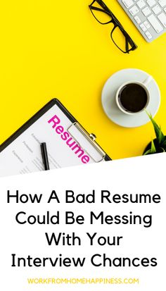 Legitimate Home Based Business Ideas How A Bad Resume Could Be Messing With Your Interview Chances And To Build
