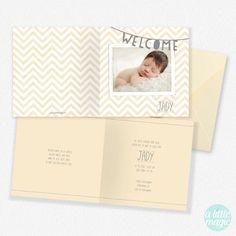 FG-61 Geboortekaartjes met foto Jady - geboortekaartje met een foto van jullie eigen kindje